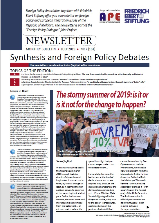 Foreign Policy Newsletter: FES Molodva